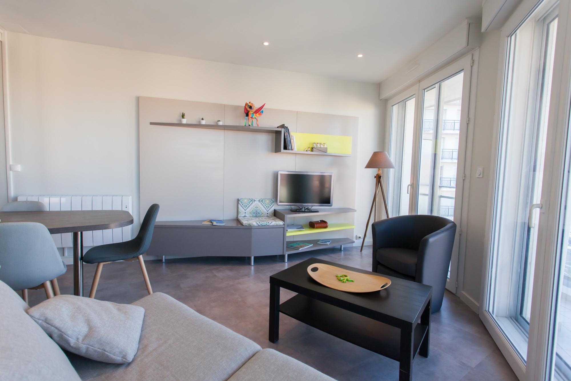 Appartement avec une magnifique vue sur la baie des Sables